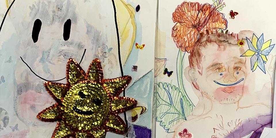 Examples of artist Eric Anthony Berdis' work