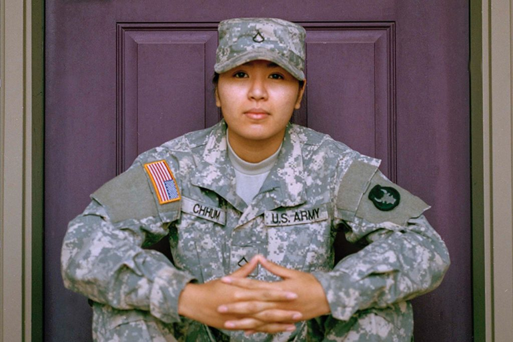 United State service member.