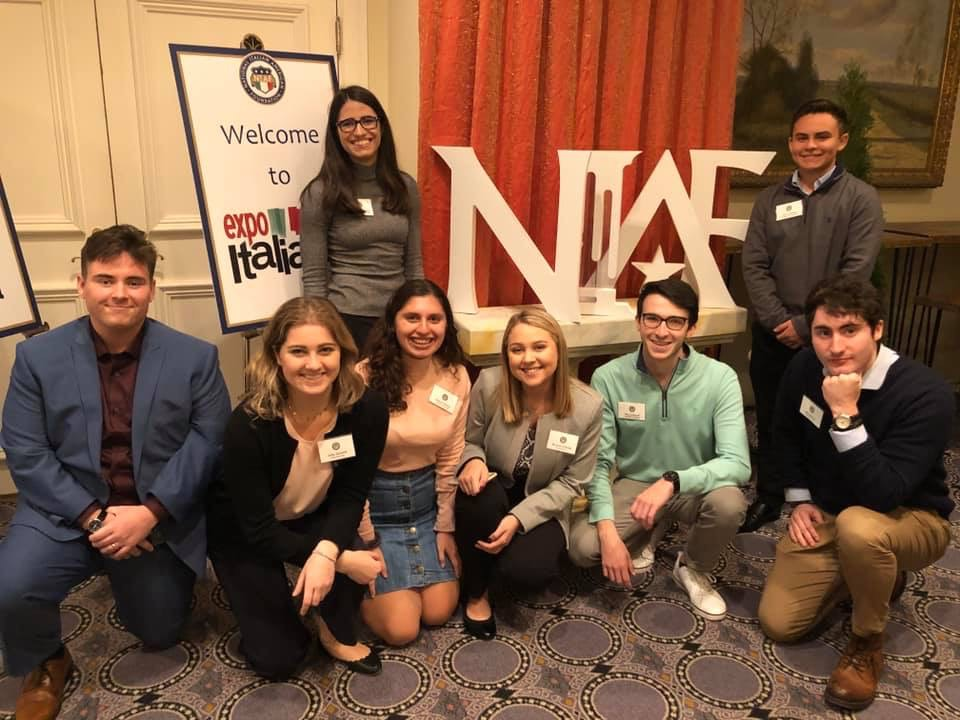 Illinois State student Gino Richardson attended the NIAF conference in Washington, D.C.