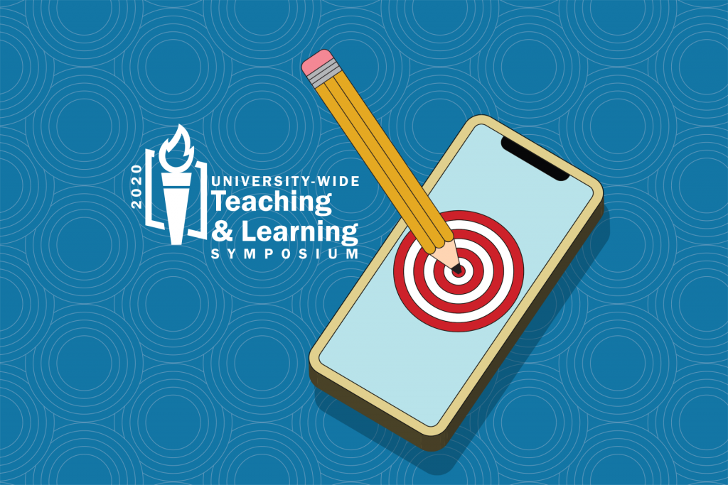 Logo for the 2020 University-Wide Teaching and Learning Symposium