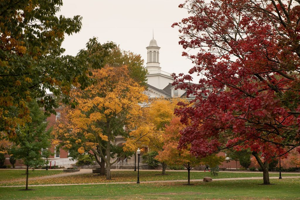 Illinois State in the fall