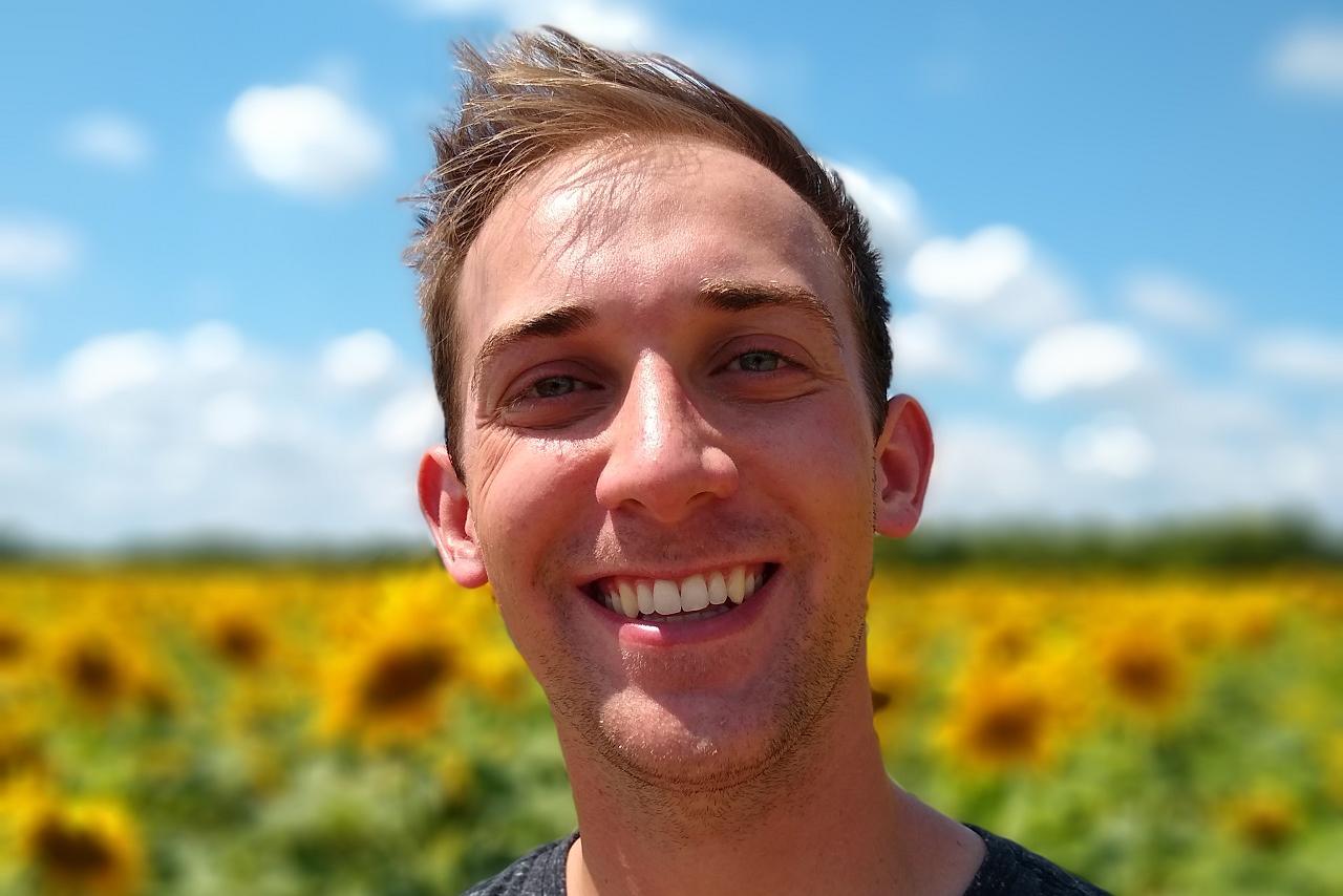 male headshot smiling