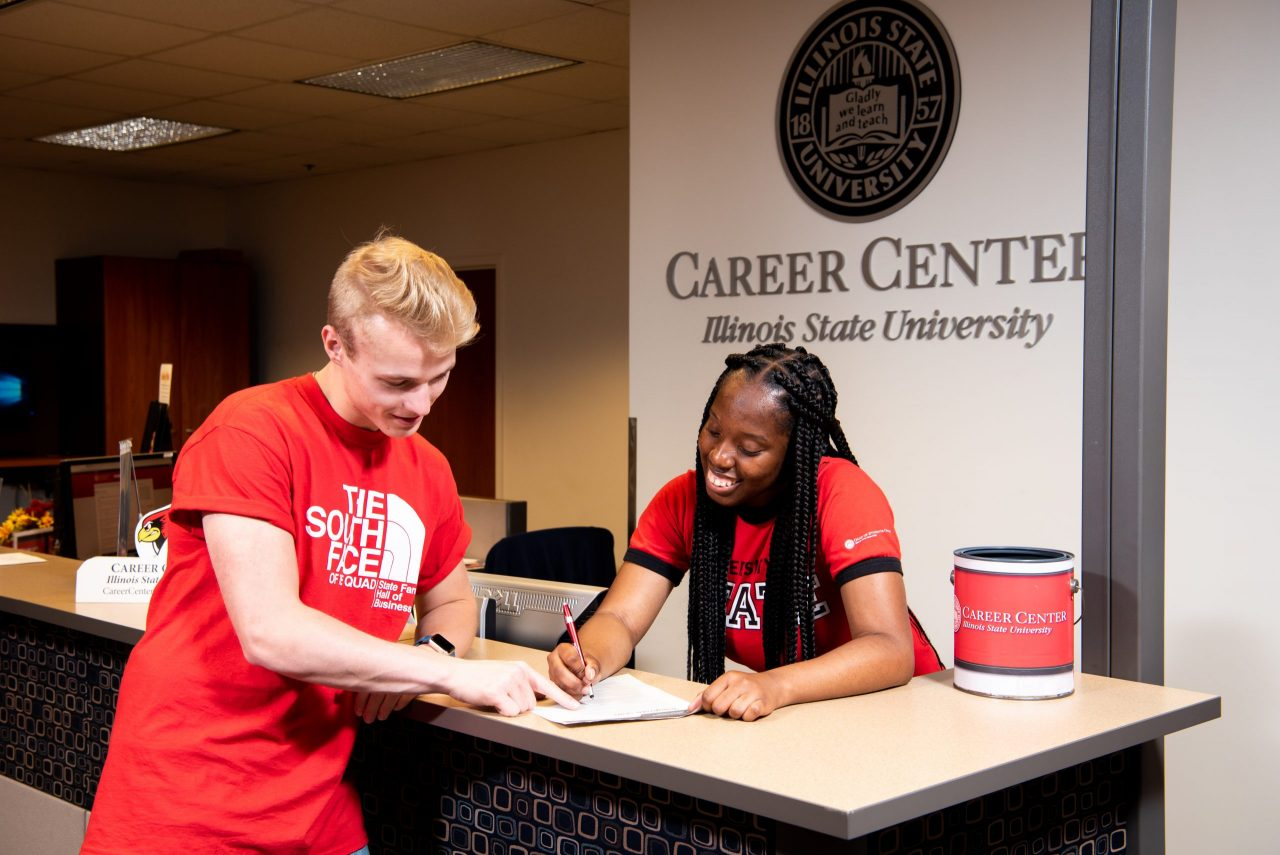Students can prepare for their professional lives at the Career Center