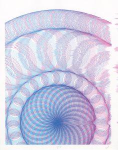 multicolor lithograph