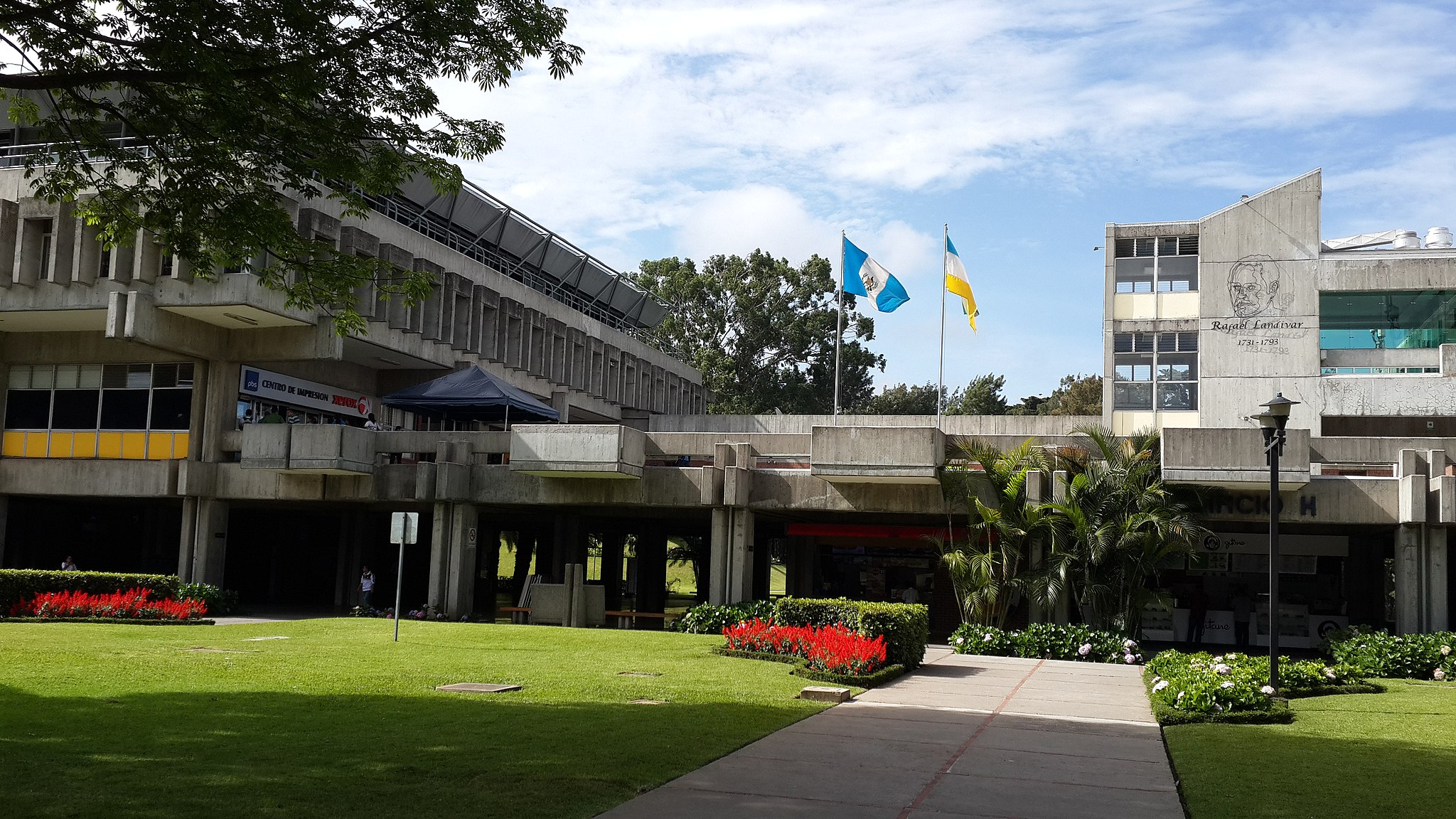 campus of Universidad Rafael Landívar in Guatemala
