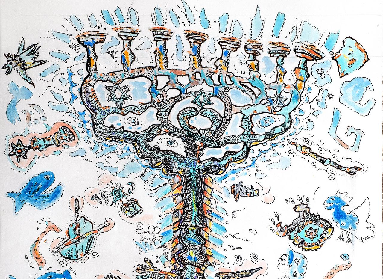 art by Akiva K. Segan
