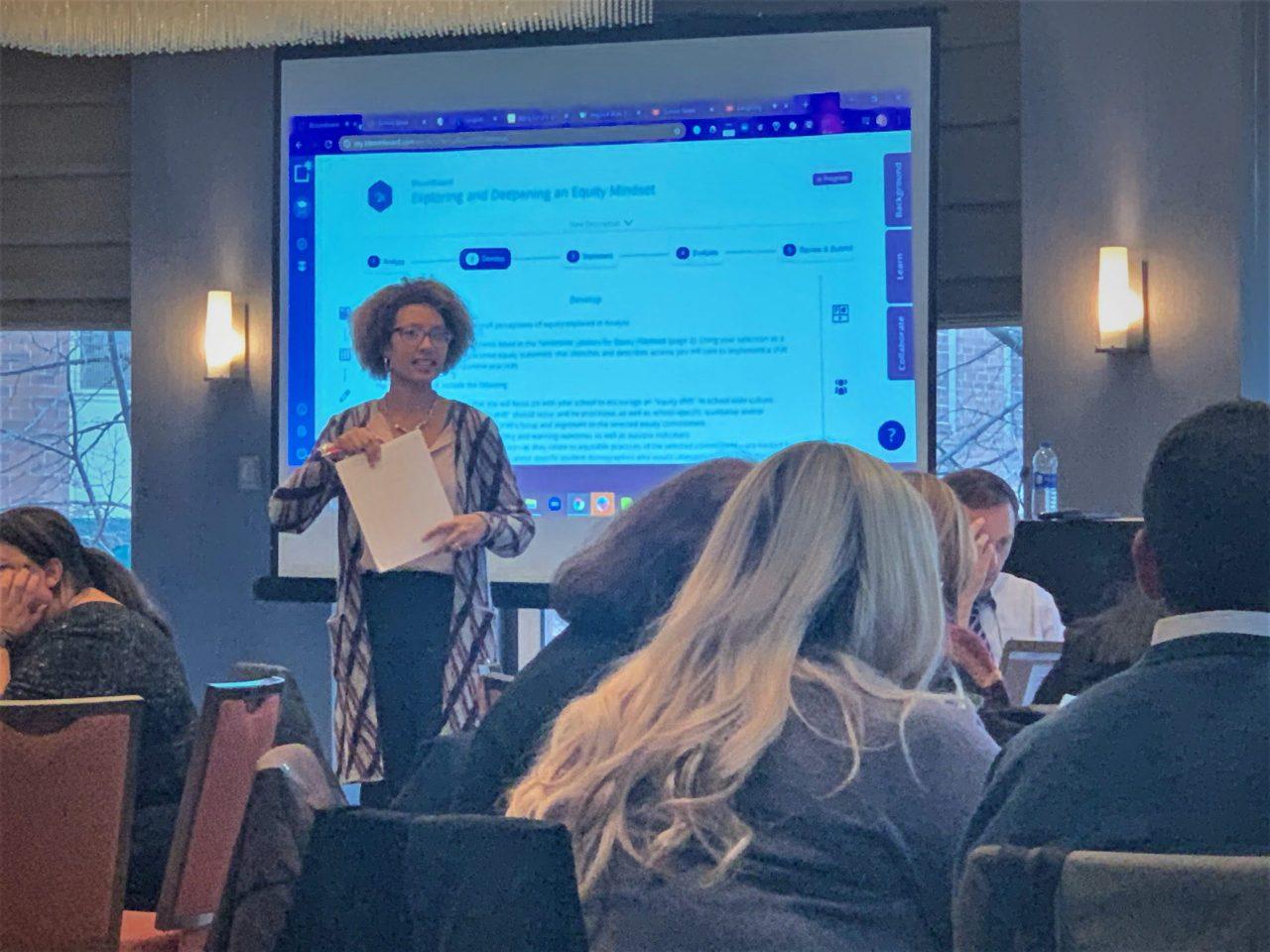 Presentation at the ESSA conference