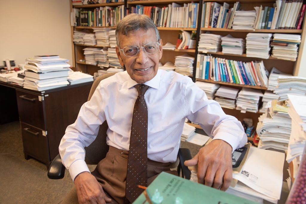 Rati Ram in his office