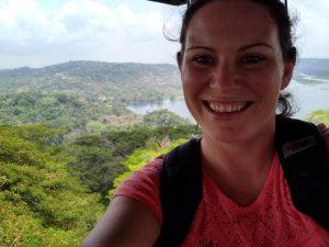 Sara Keene '19 in Panama in 2018