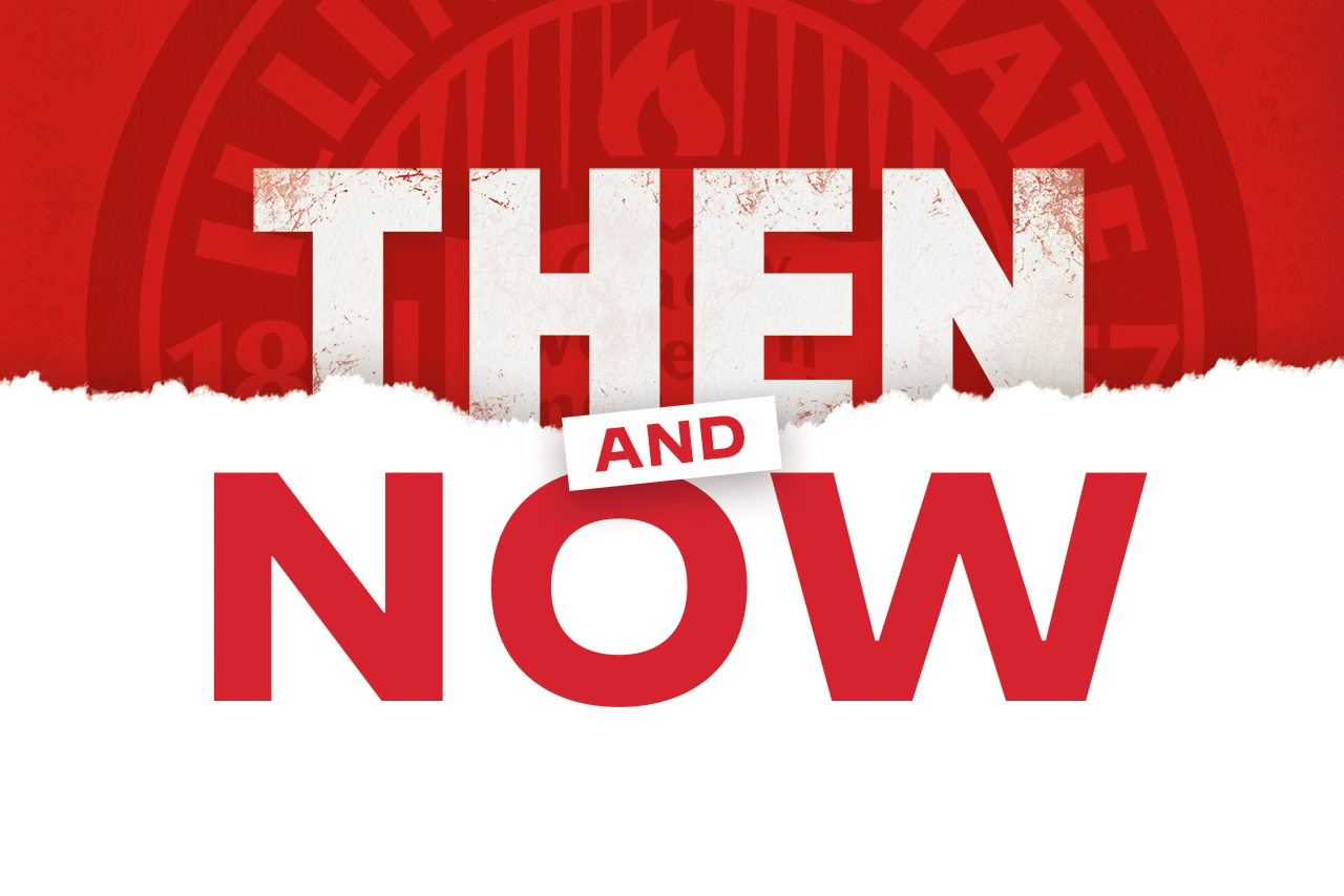 Then and Now graphic