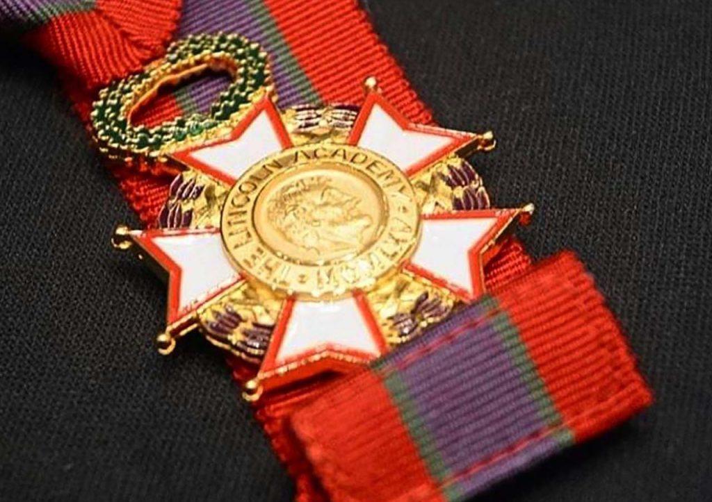 medal on a ribbon