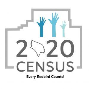 2020 Census Logo Every Redbird Counts