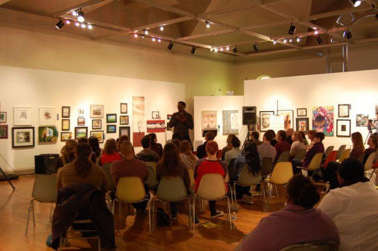 Attendees enjoy @Salon 2013