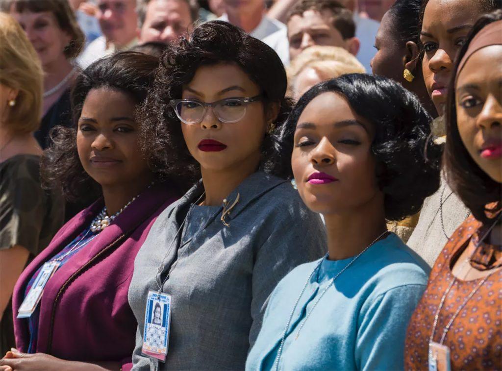 women in a crowd