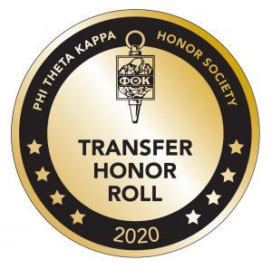 PTK Transfer Honor roll seal