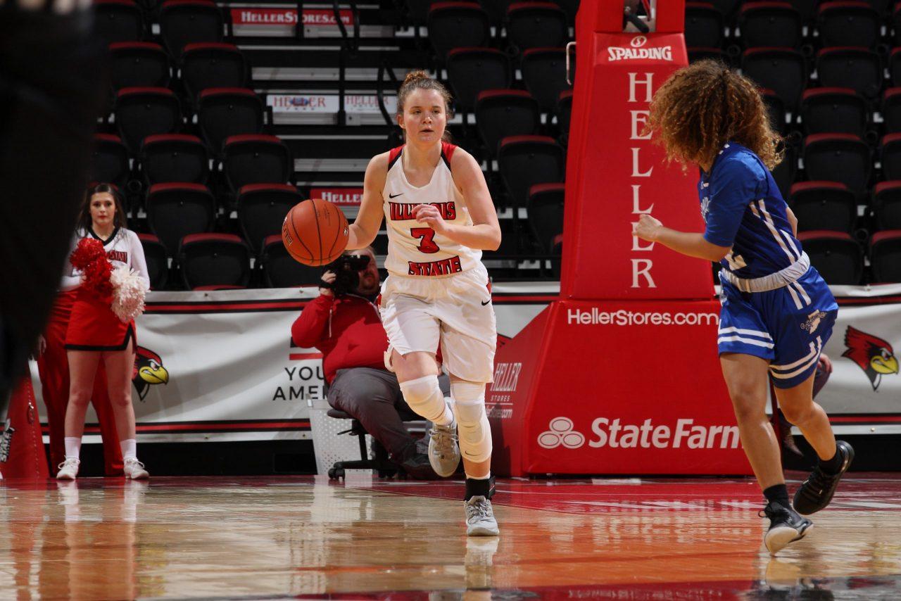 Redshirt freshman Mary Crompton