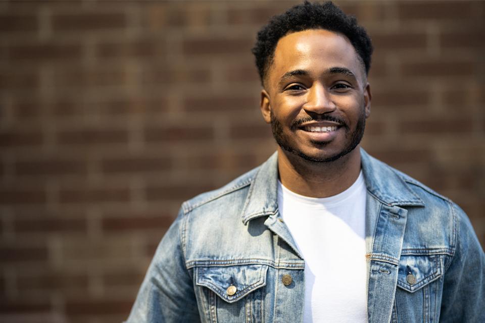 Headshot of smiling man