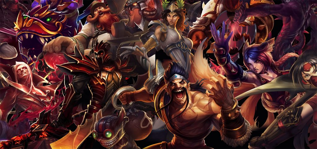 characters from the Video Game League of Legends