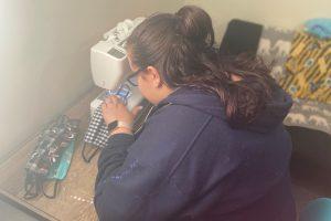 Blair Canedy sewing masks