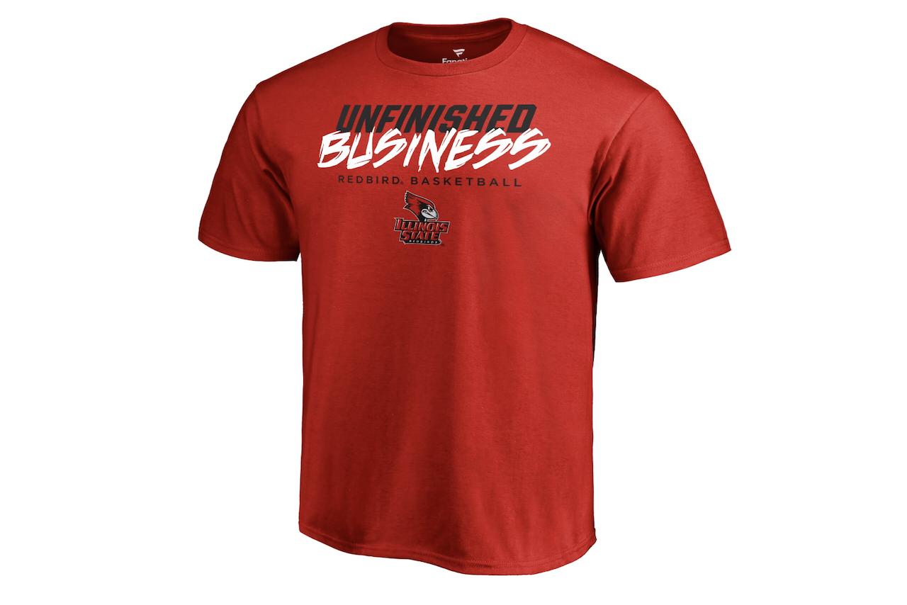 Unfinished Business Redbird Basketball T-shirt