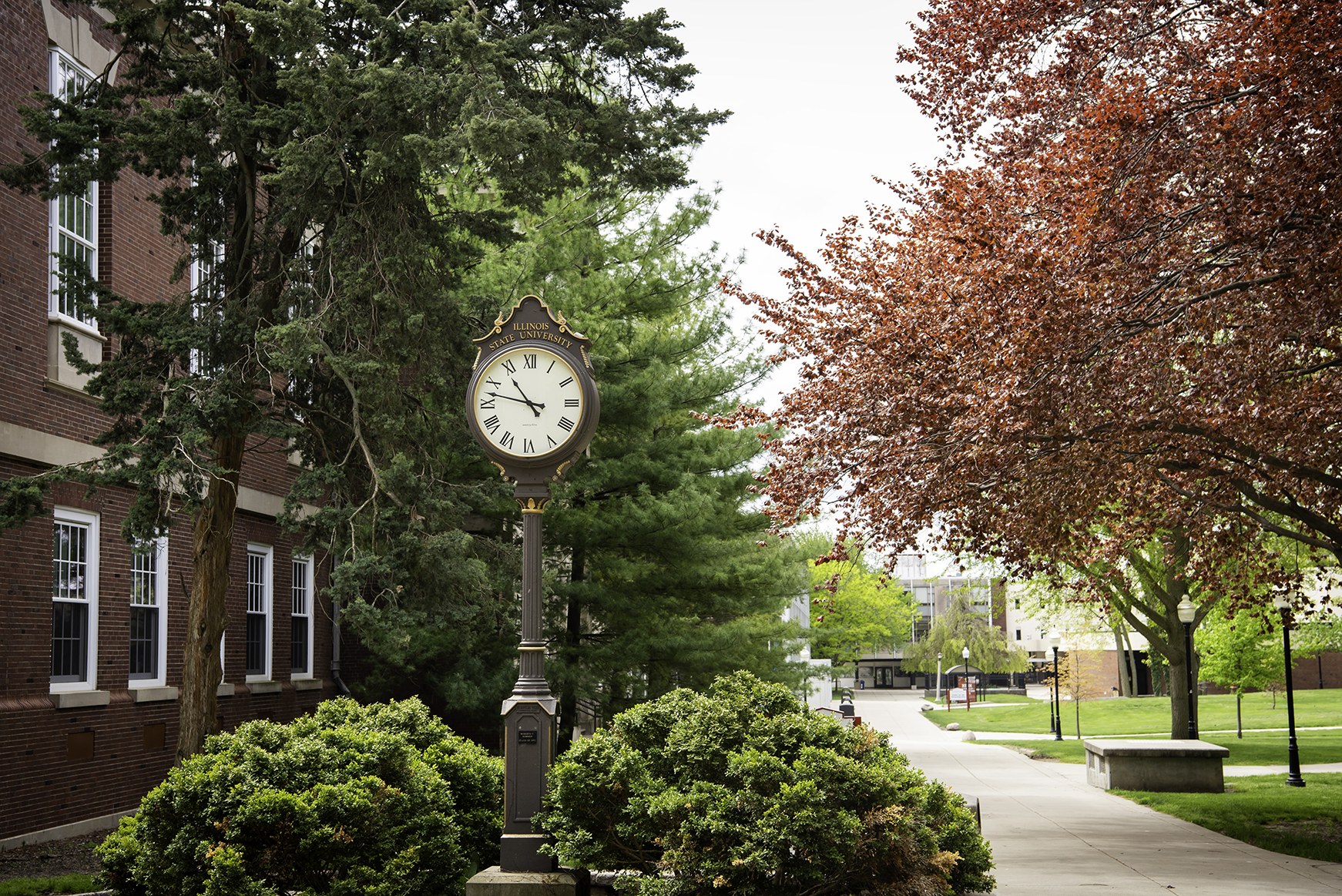 Clock on the Quad