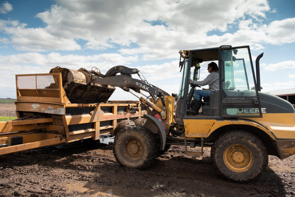 Tractor loading equipment