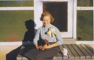 Picture of JoEllen Maske in 1957