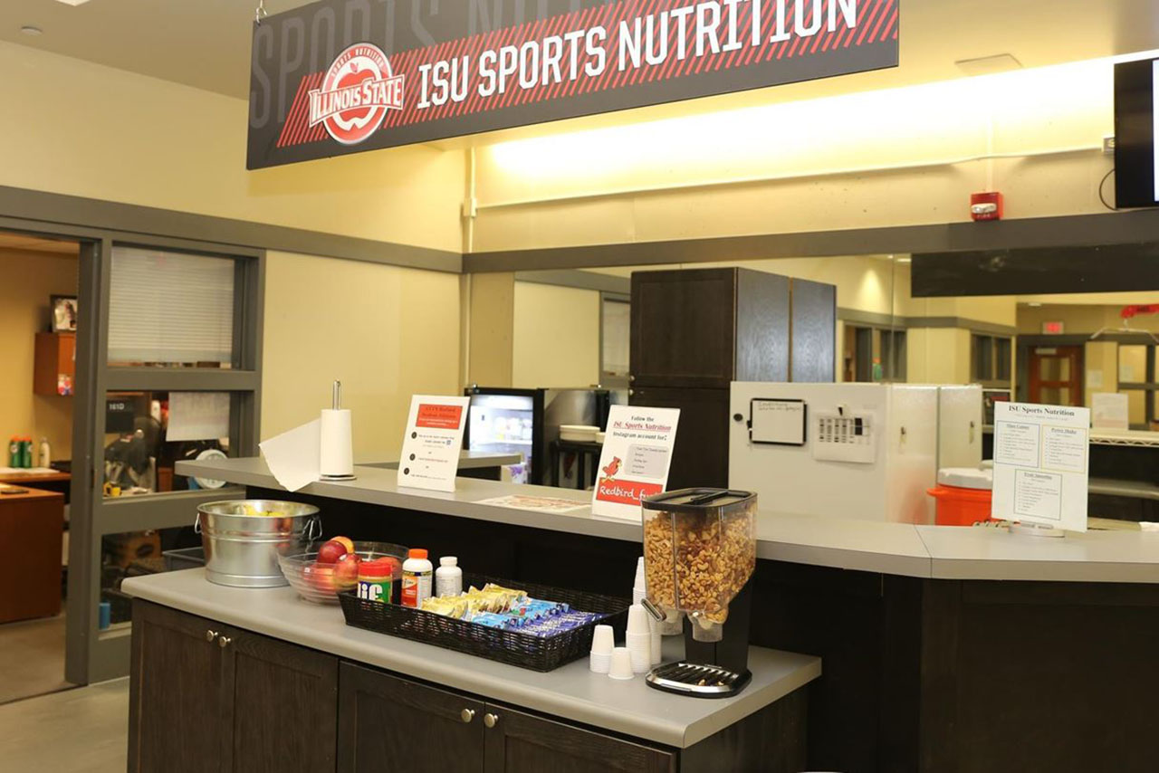 Sports nutrition at Illinois State