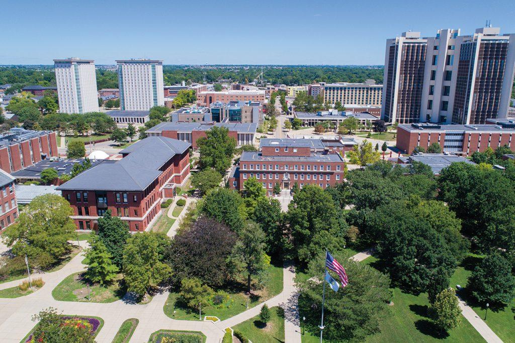 Illinois State University Quad