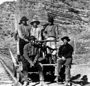 Chinese railroad crew
