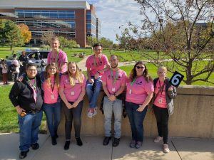 WIT members after volunteering at the State Farm Millennium Girls Event