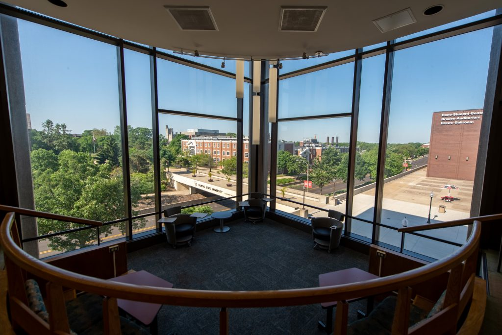 Milner Library fourth floor
