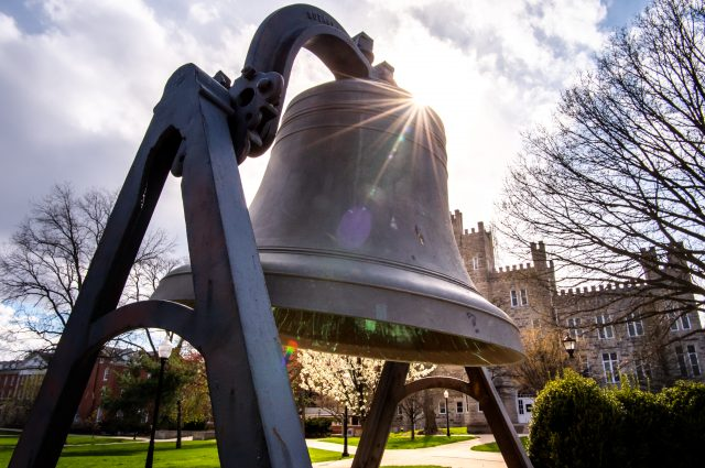 Old Main Bell on Quad