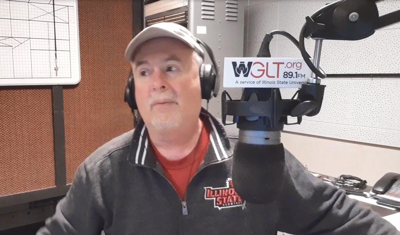Jon Norton in studio
