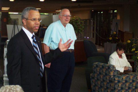 Drs. Al Bowman and Thomas Wilson