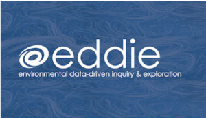 Logo for Project EDDIE (Environmental Data-Driven Inquiry and Exploration), a collaborative project between Illinois State and the Science Education Resource Center at Carleton College that seeks to foster quantitative reasoning among undergraduates.