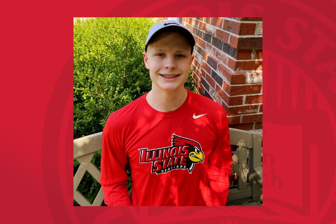 Freshman Redbird Sam Carroll