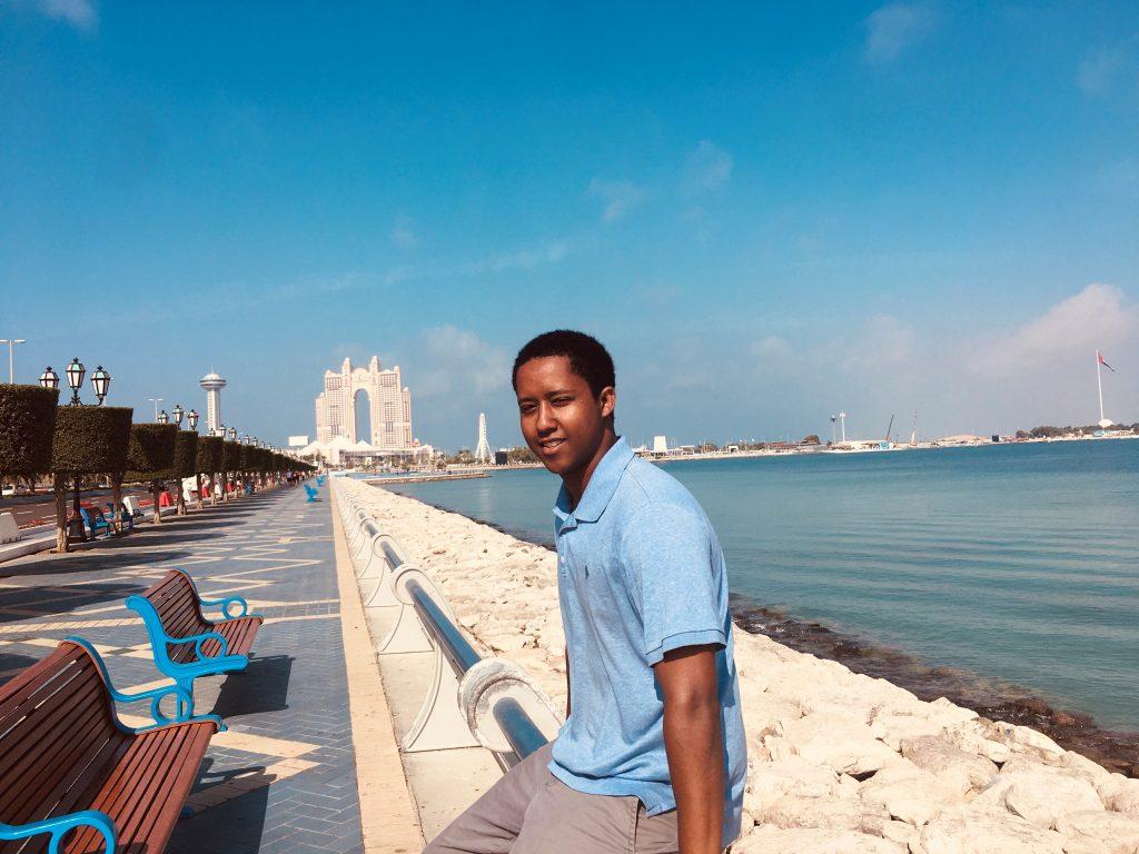Scholarship recipient Birhanu Kassa