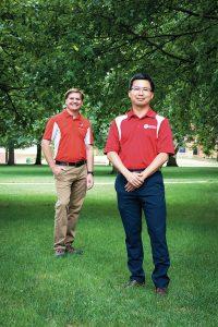 Drs. David Kopsell and LC (Liangcheng) Yang.