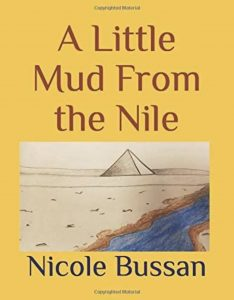 Book cover, A Little Mud from the Nile by Nicole Bussan