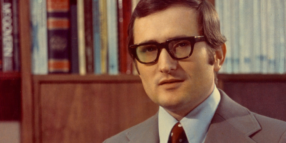 headshot of Gene Budig