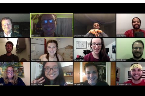 Zoom meeting screenshot