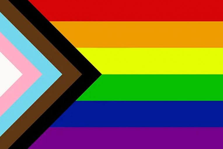 Progress Pride Flag created by Daniel Quasar