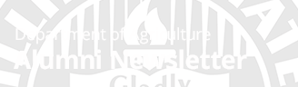 Department of Agriculture Alumni Newsletter