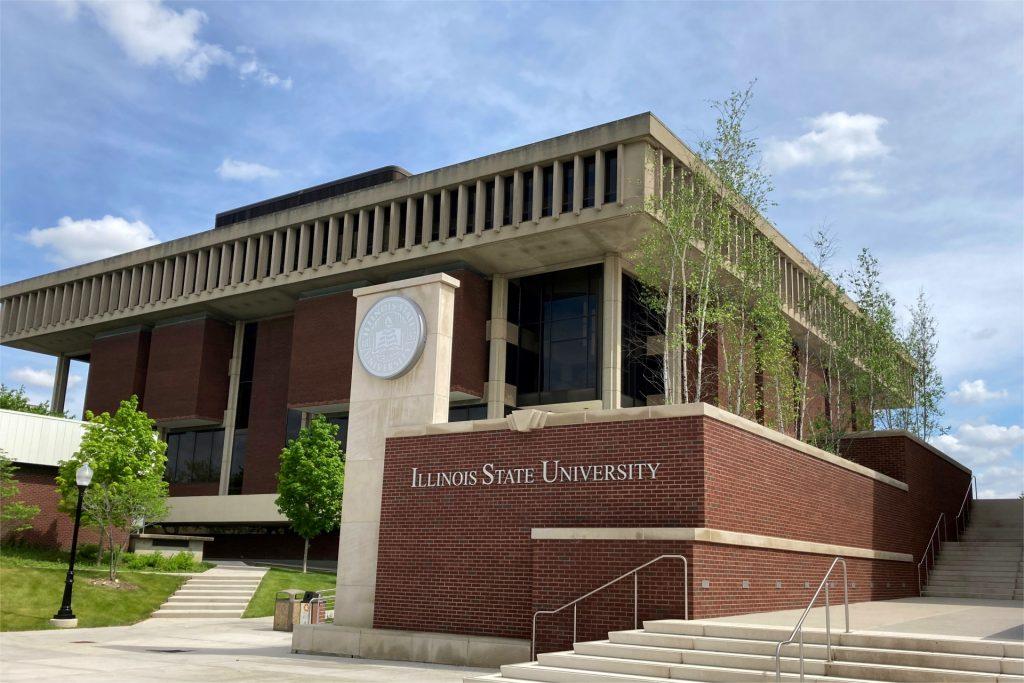 North entrance to campus