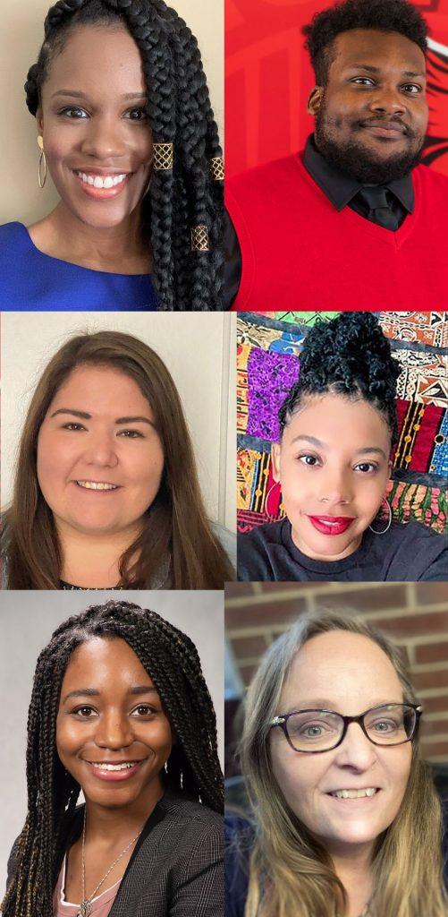 headshots of six of the winners of the 2020 LEGACY Award