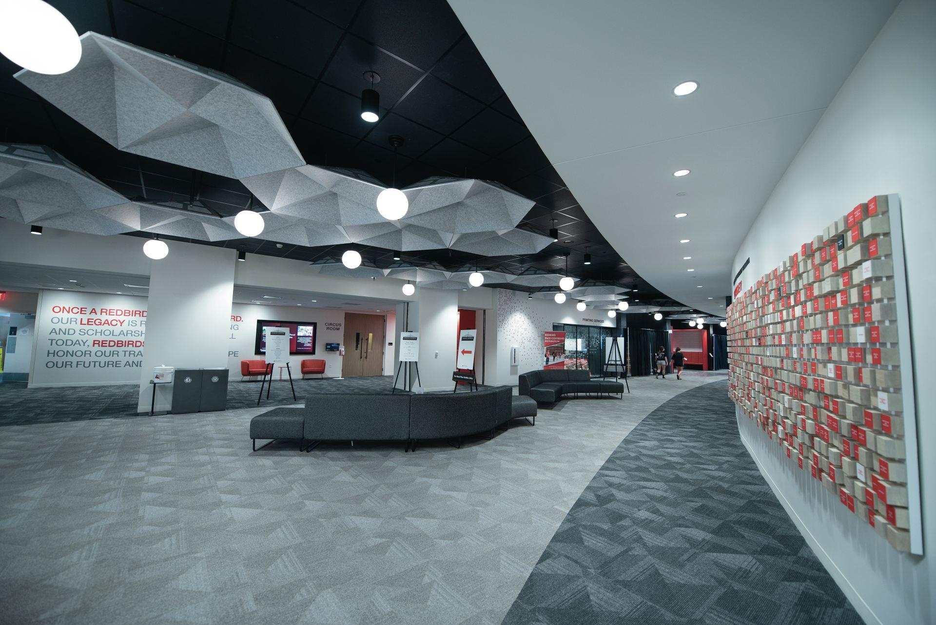 Bone Student Center in 2020