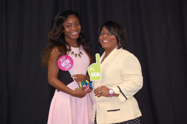 Ashley Smith with her mother, Bonita Smith