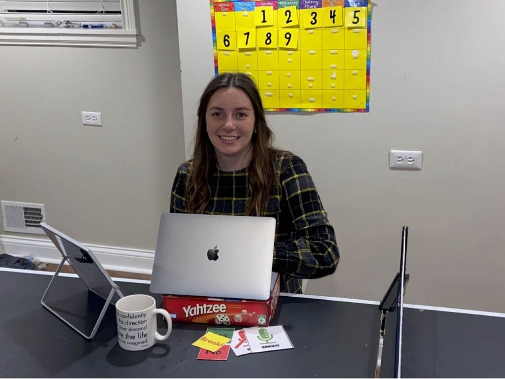 Grace Brannen, special education major