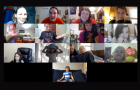 Zoom image from Fall 2020 Saturday Creative Drama class